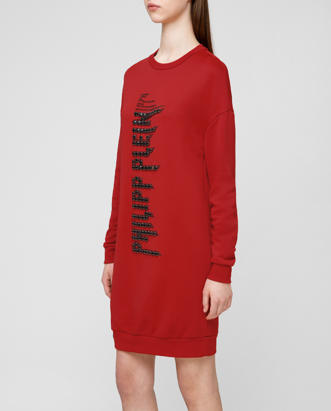 Philipp Plein Красное платье WJO0373 изображение 3