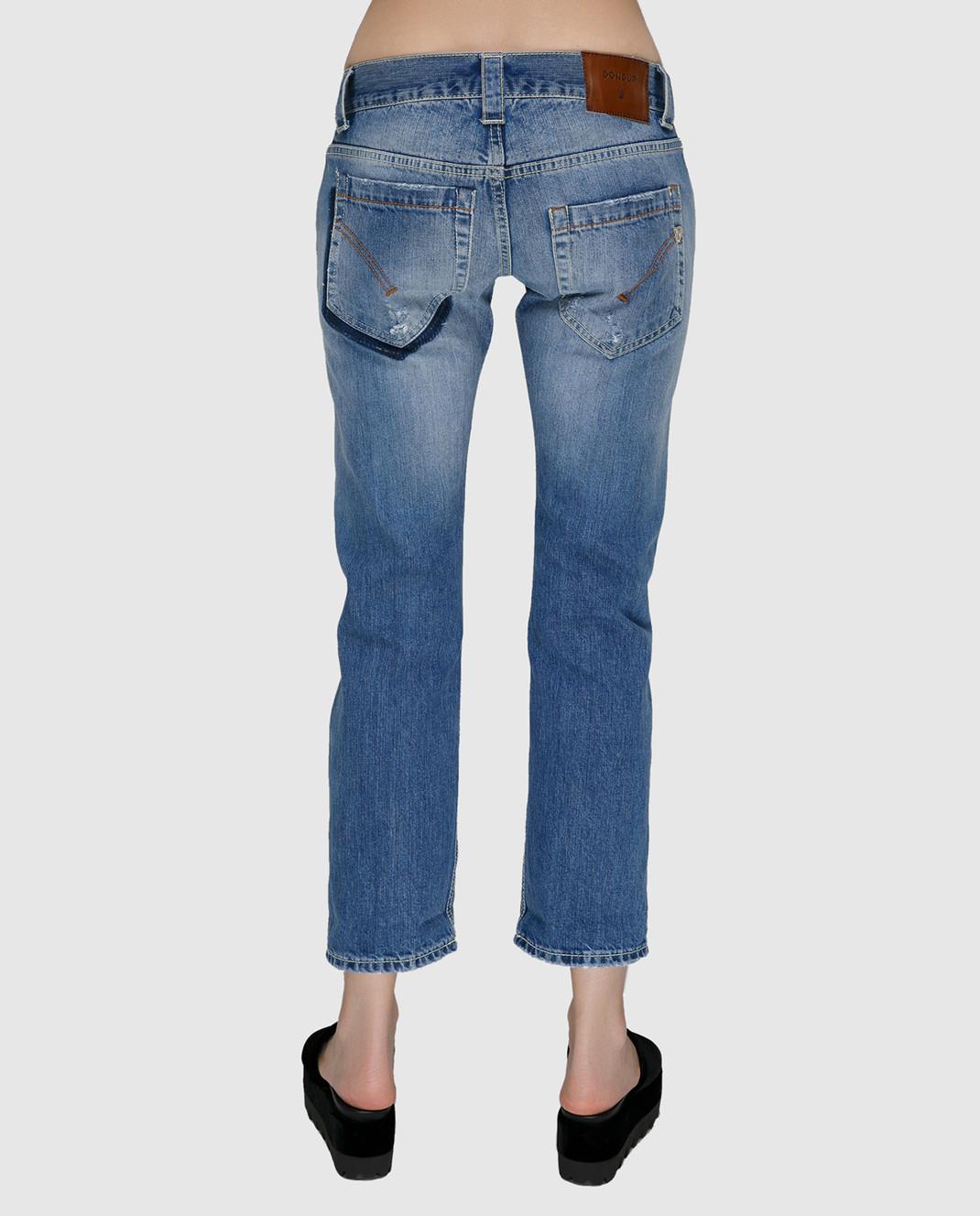 Dondup Синие джинсы P857DF140DO66 изображение 4