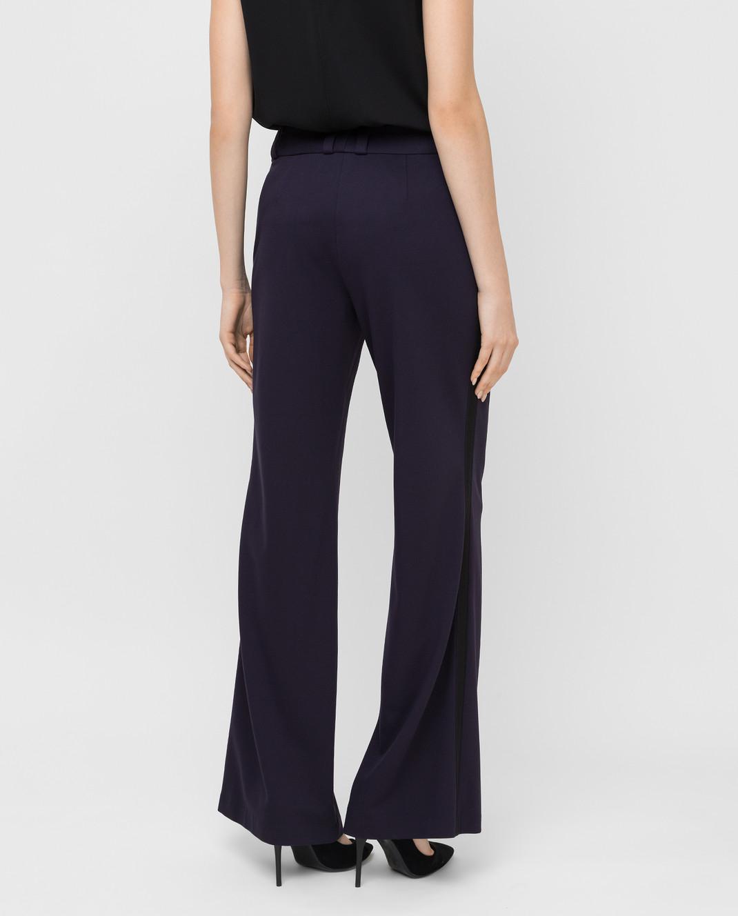 Maison Ullens Фиолетовые брюки PAN082 изображение 4