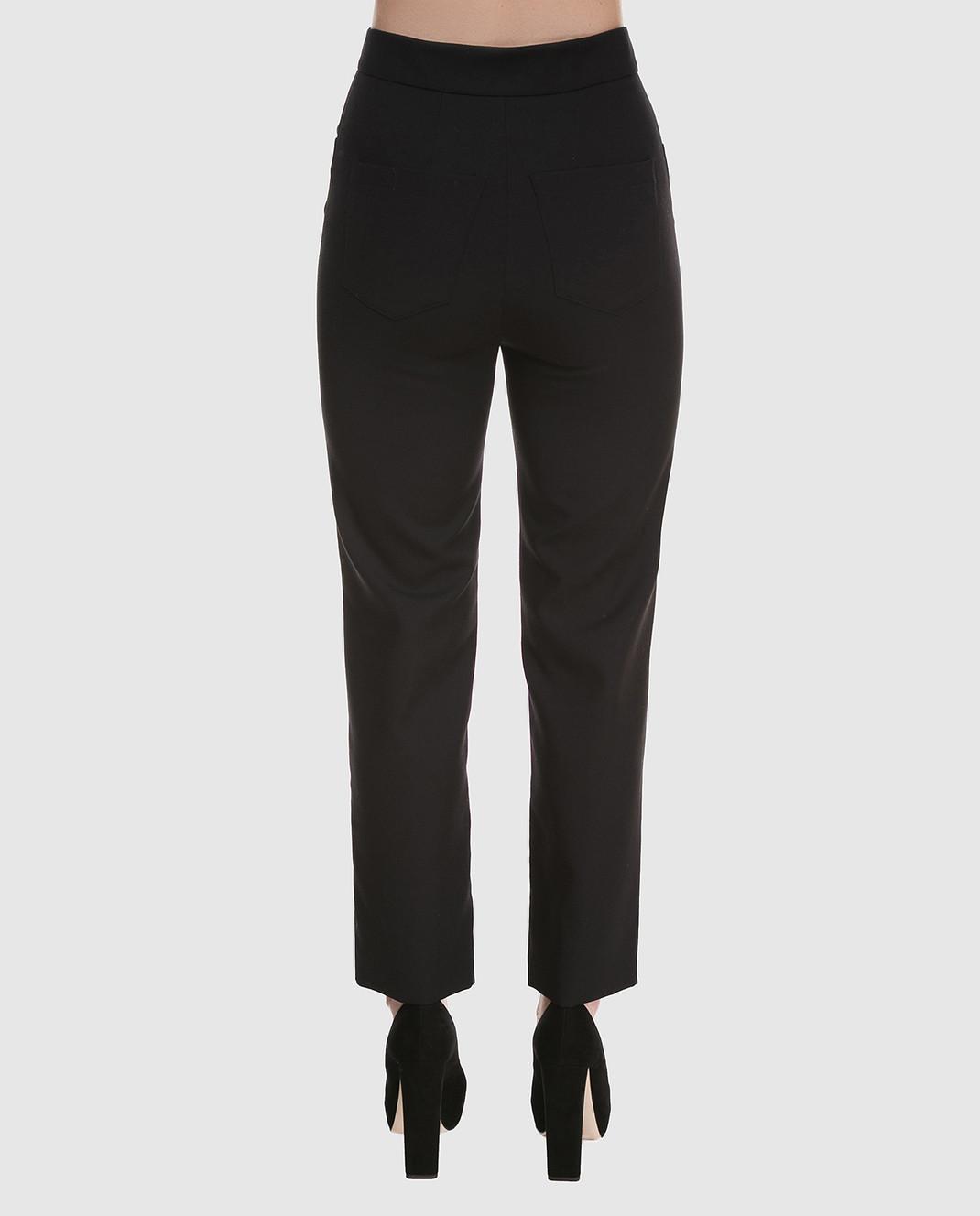 Balmain Черные брюки 135104 изображение 4