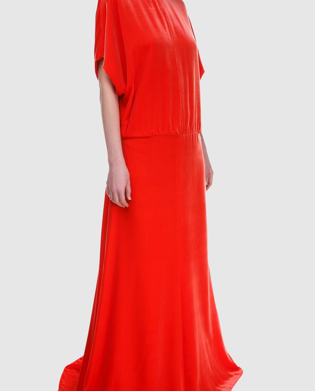 Valentino Красное платье PB0VD7E53TF изображение 2