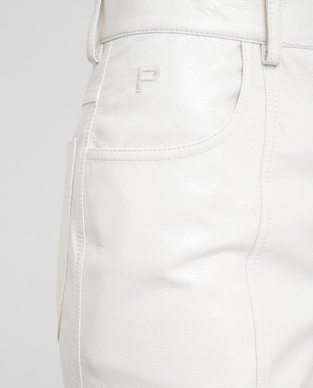 Philosophy di Lorenzo Serafini Светло-бежевые брюки изображение 5