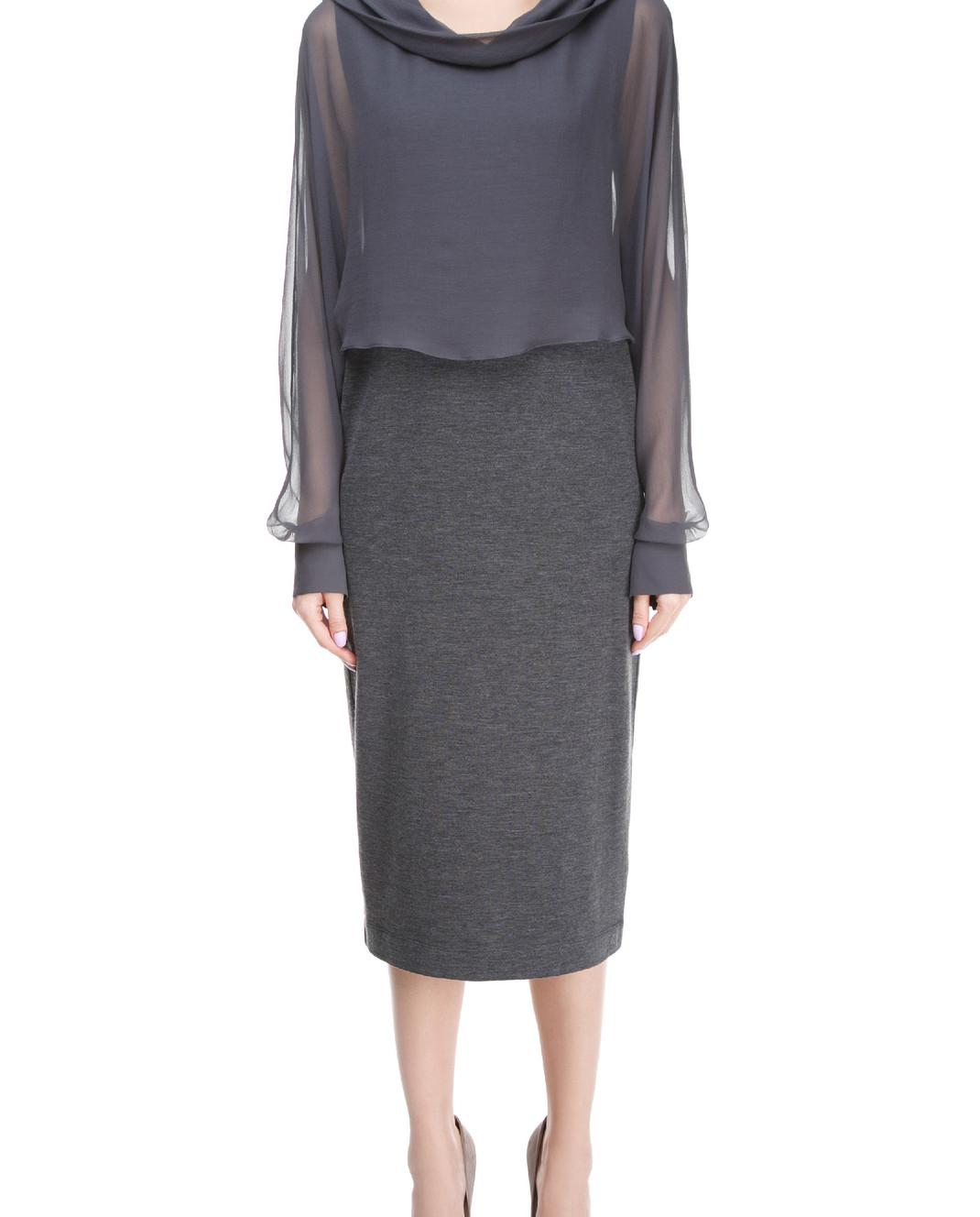 Brunello Cucinelli Платье миди M0R25AF631 изображение 3