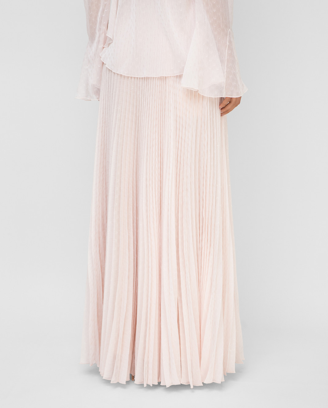 Philosophy di Lorenzo Serafini Светло-розовая юбка изображение 4