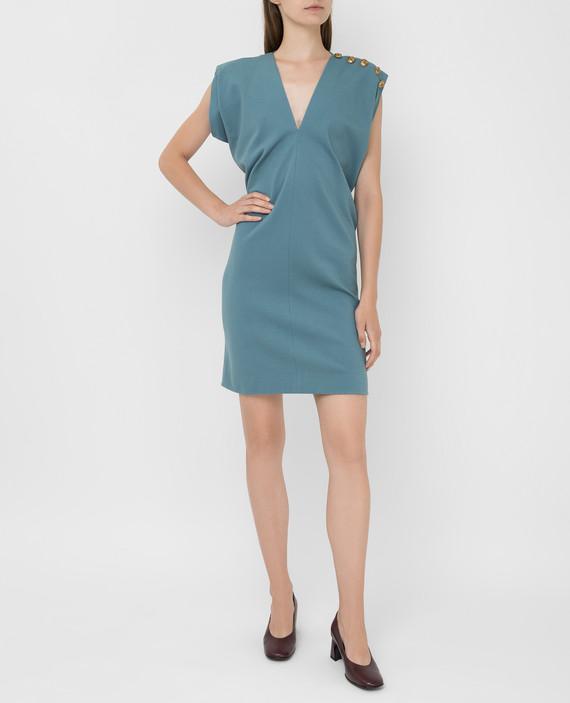 Светло-бирюзовое платье hover