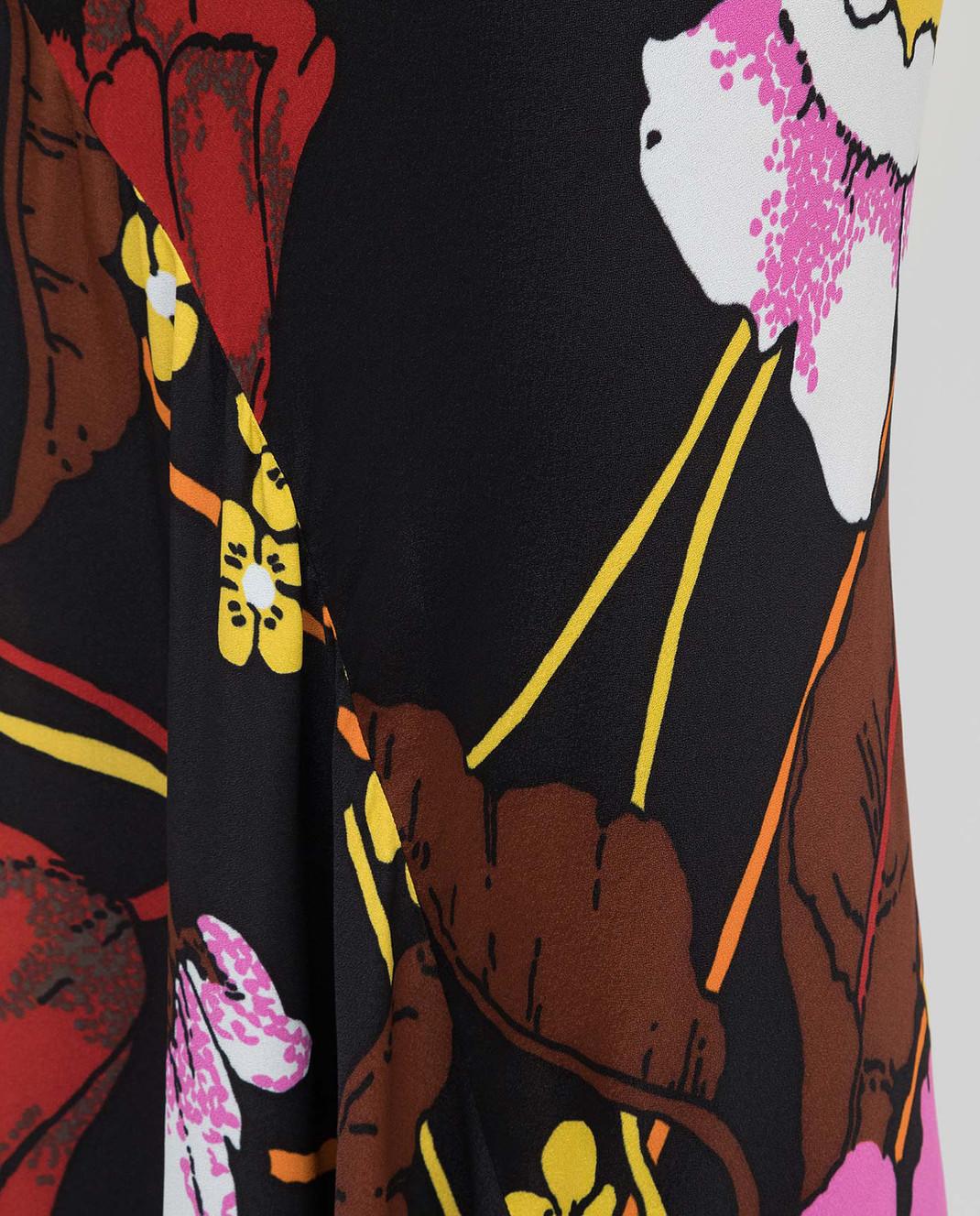 Marni Черная юбка GOMAT16J00TV457 изображение 5