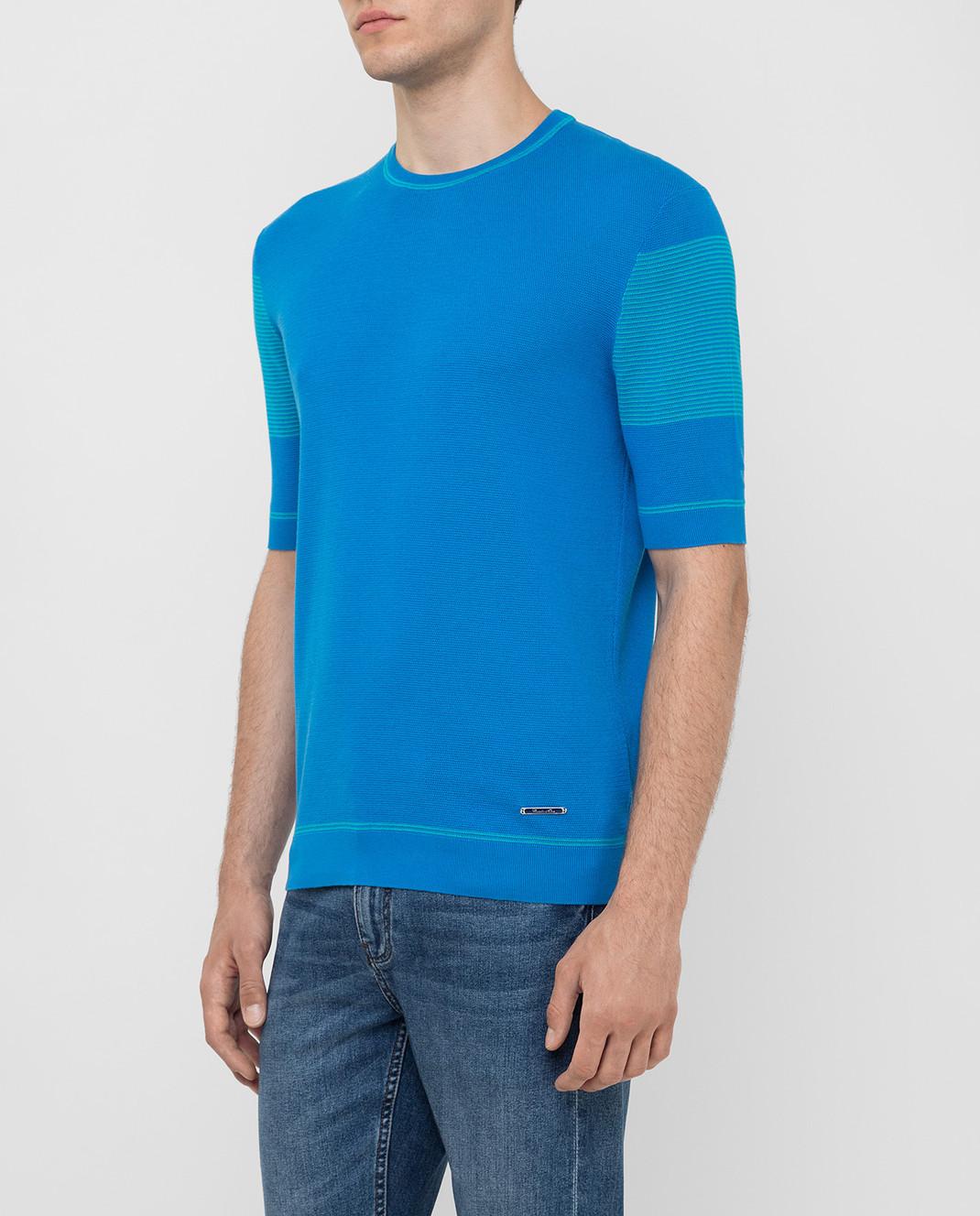 Castello d'Oro Синяя футболка изображение 3