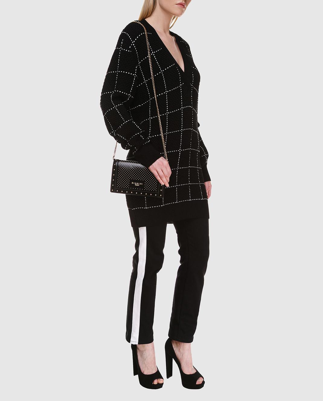 Balmain Черный свитер 136667 изображение 2
