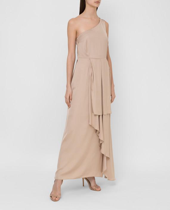 Бежевое платье hover
