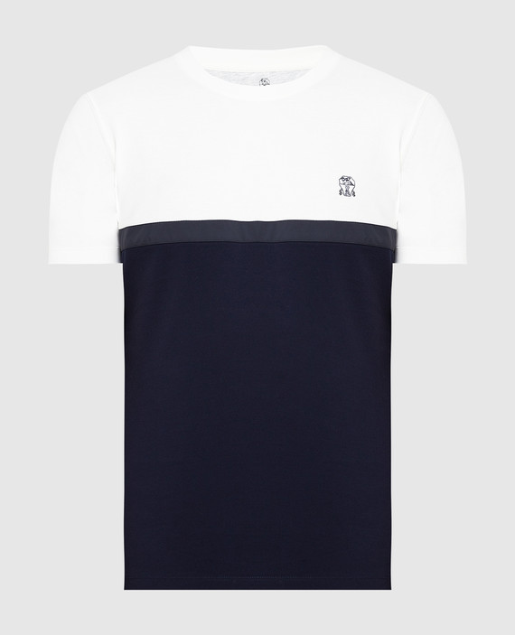 Темно-синяя футболка