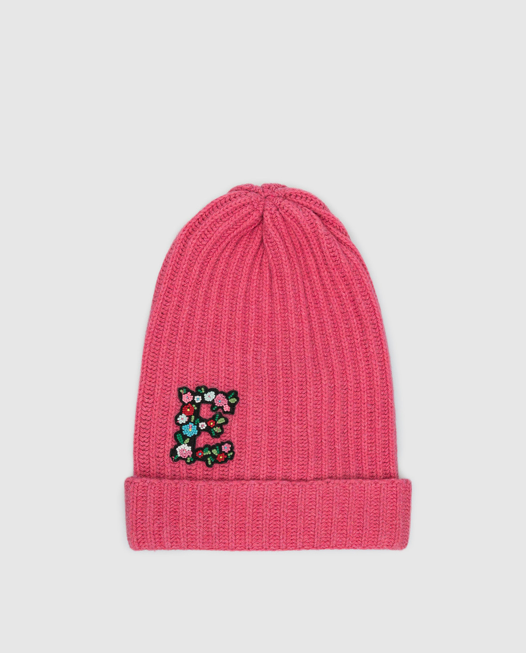 Ermanno Scervino Детская розовая шапка PP01MAG4