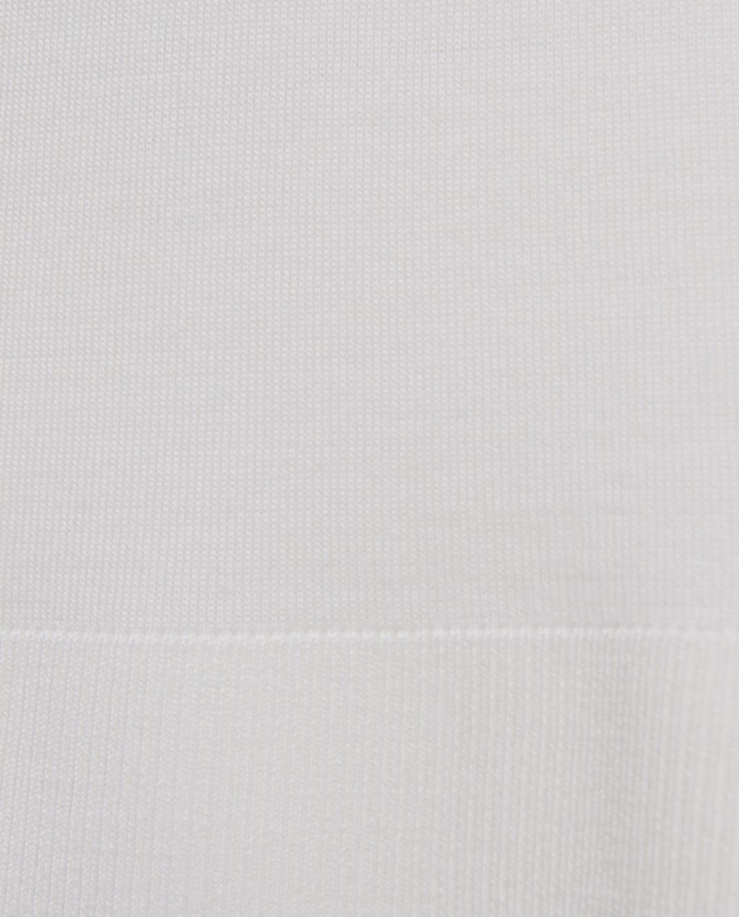 Maison Ullens Белый джемпер из кашемира и шелка TSS018 изображение 5