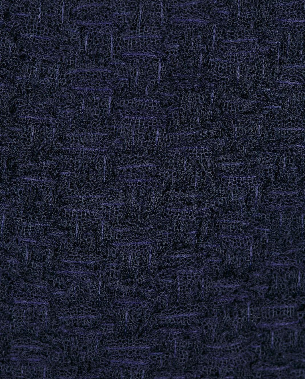 NINA RICCI Темно-синяя юбка 17PCJU023PA0341 изображение 5