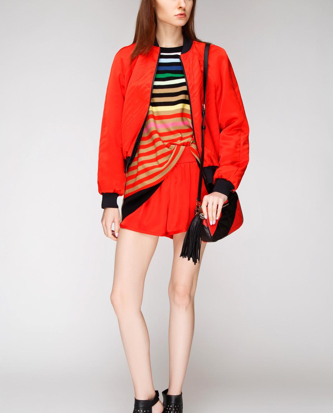 Sonia Rykiel Красные шорты 15402306 изображение 2