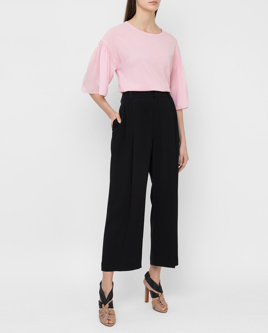 Pinko Розовая блуза 1B11QP изображение 2