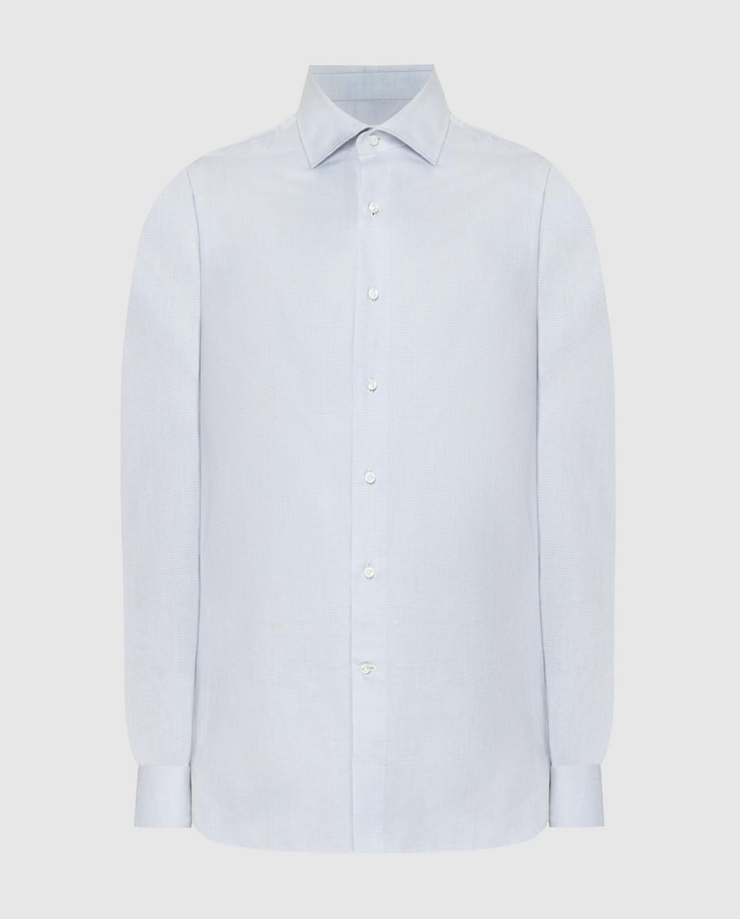Luciano Lombardi Голубая рубашка 66216210
