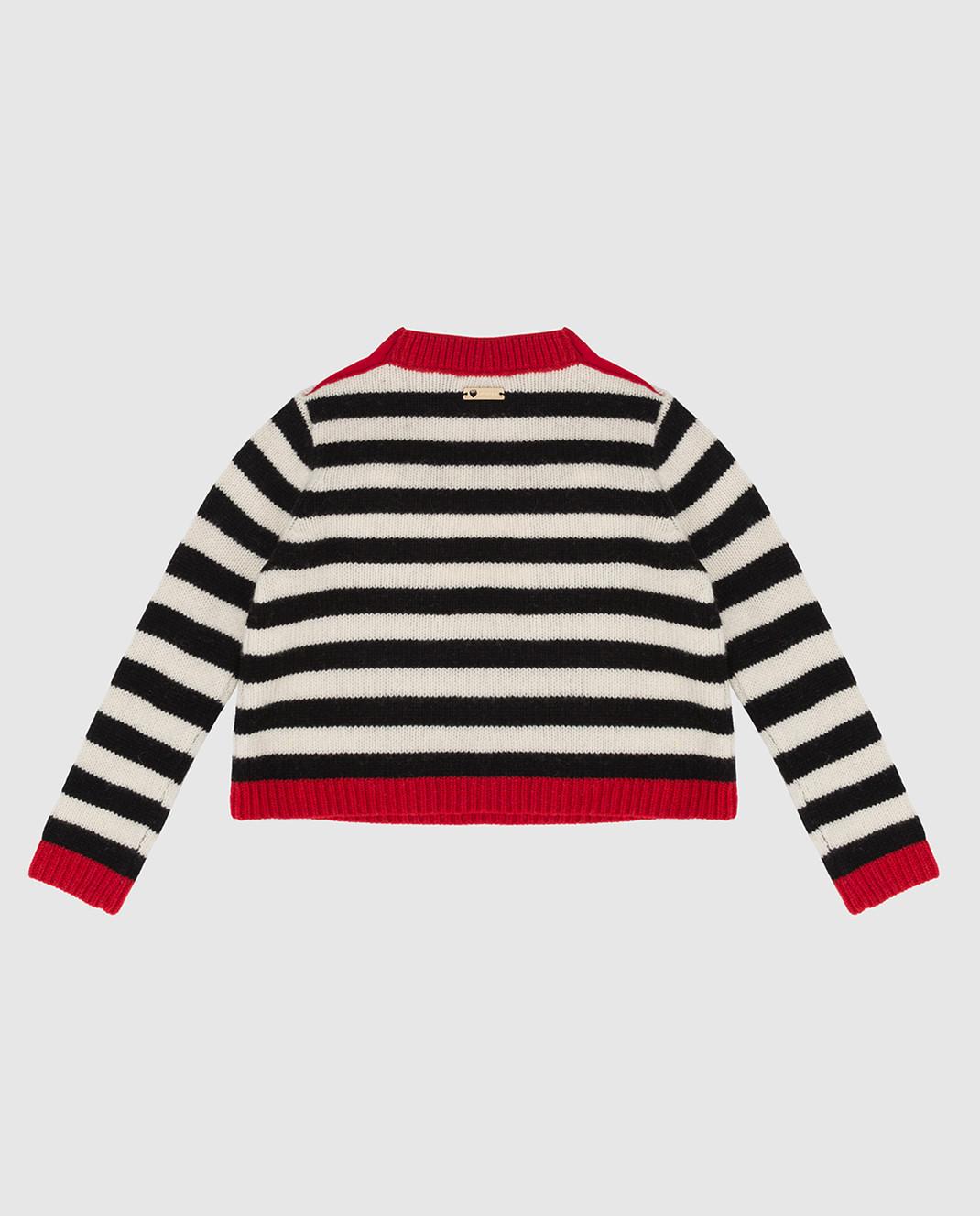 Twin Set Детский свитер из шерсти FA83GA изображение 2