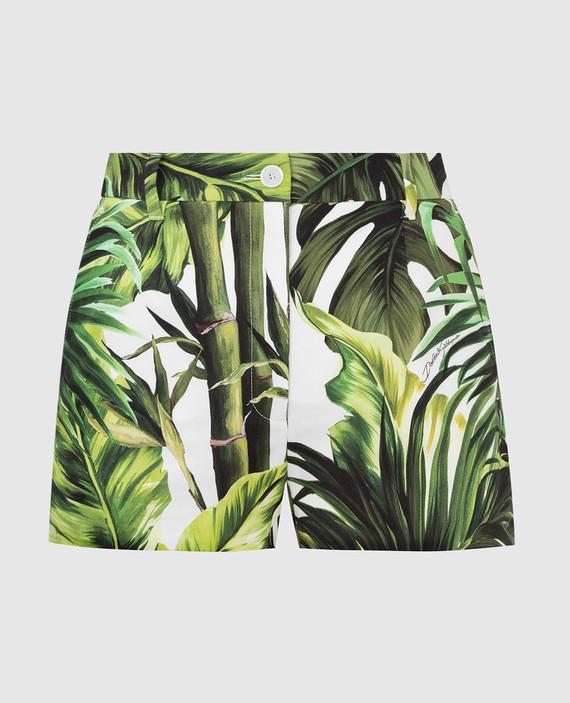 Зеленые шорты