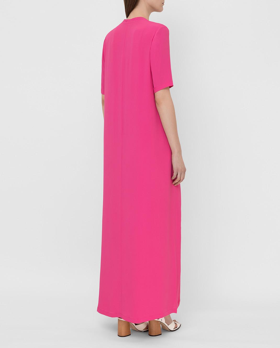 Fabiana Filippi Розовое платье ABD260B985 изображение 4