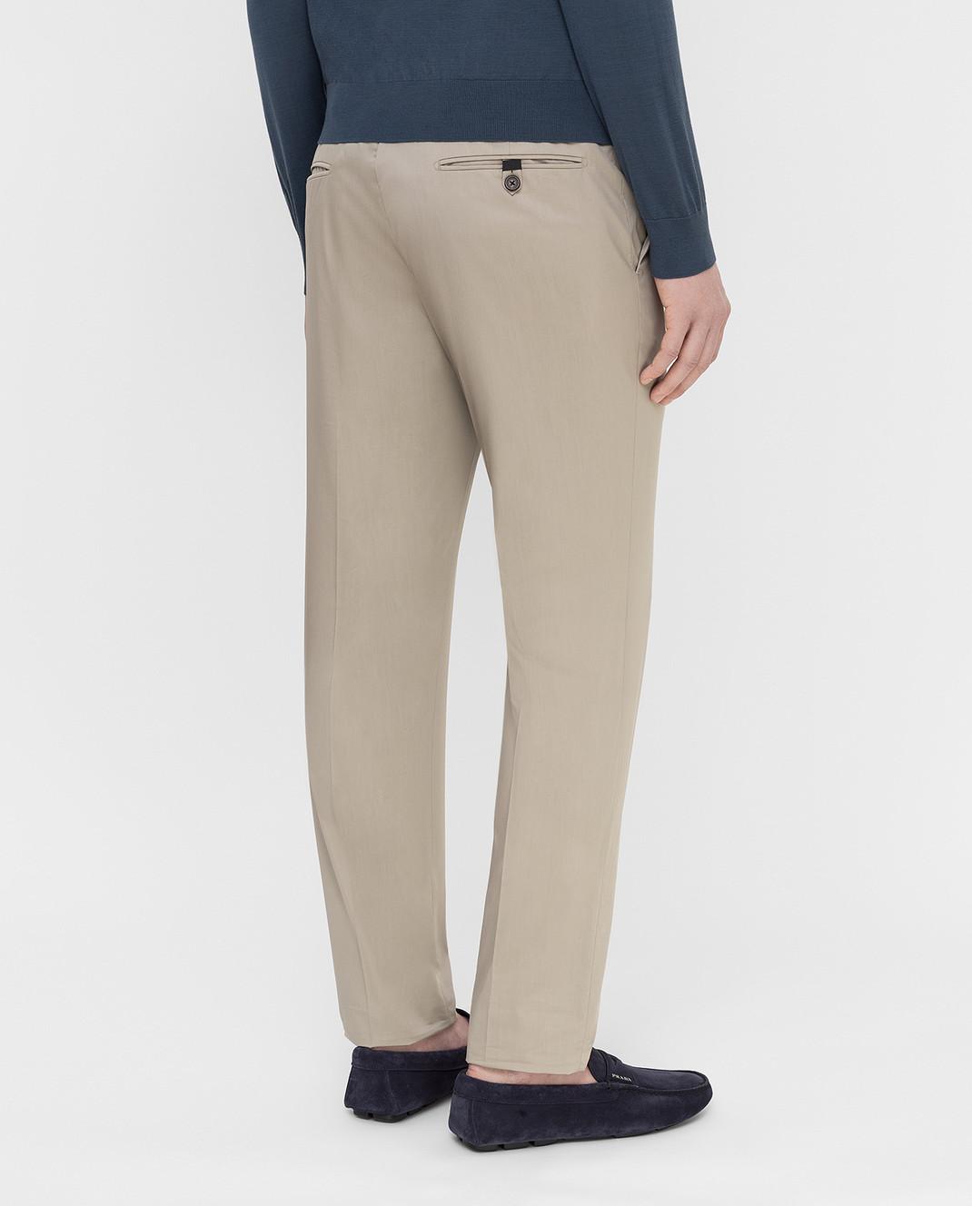 Prada Серые брюки UPA8411VSD изображение 4