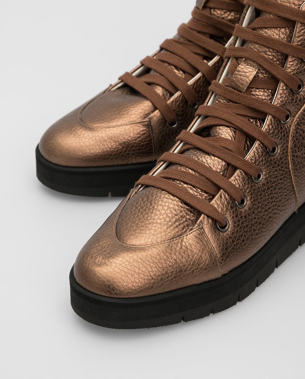 Steiger Бежевые ботинки 1384A изображение 5