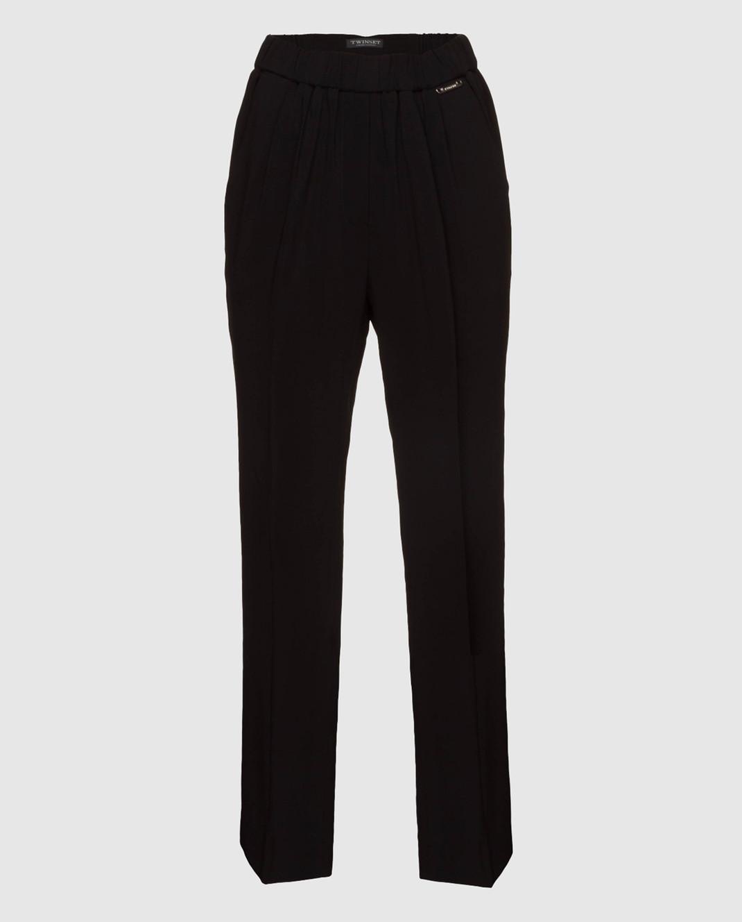 Twin Set Черные брюки изображение 1