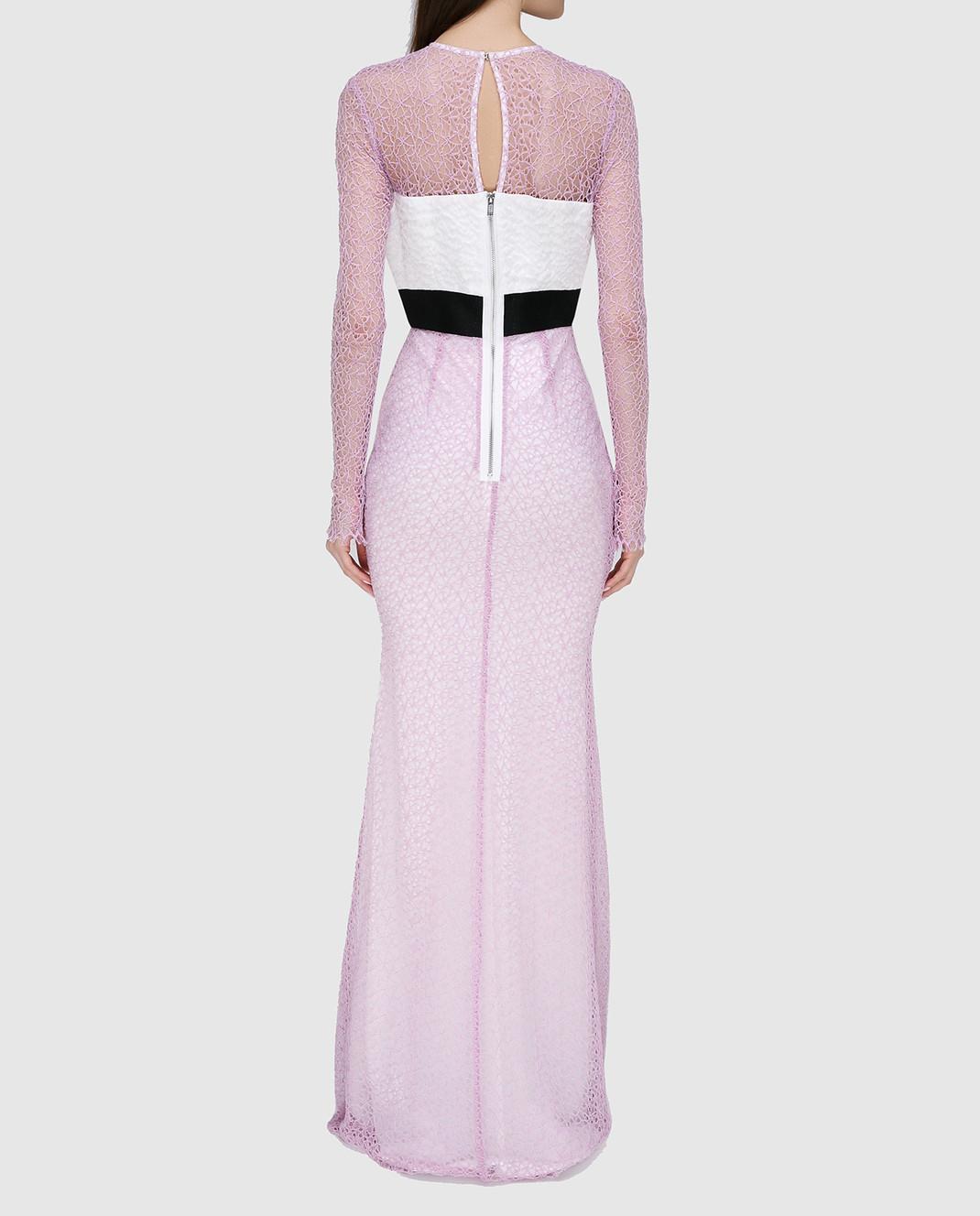 Alex Perry Сиреневое платье из кружева D936 изображение 4
