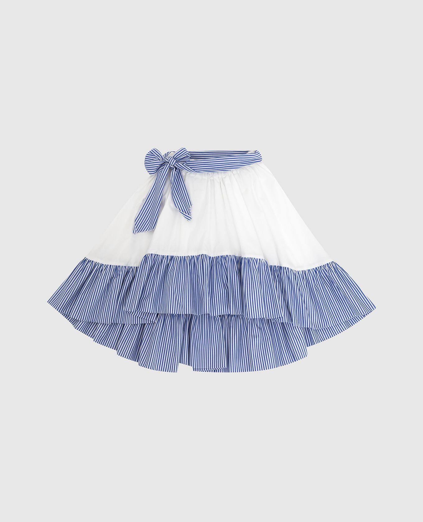 Детская юбка со съемным поясом