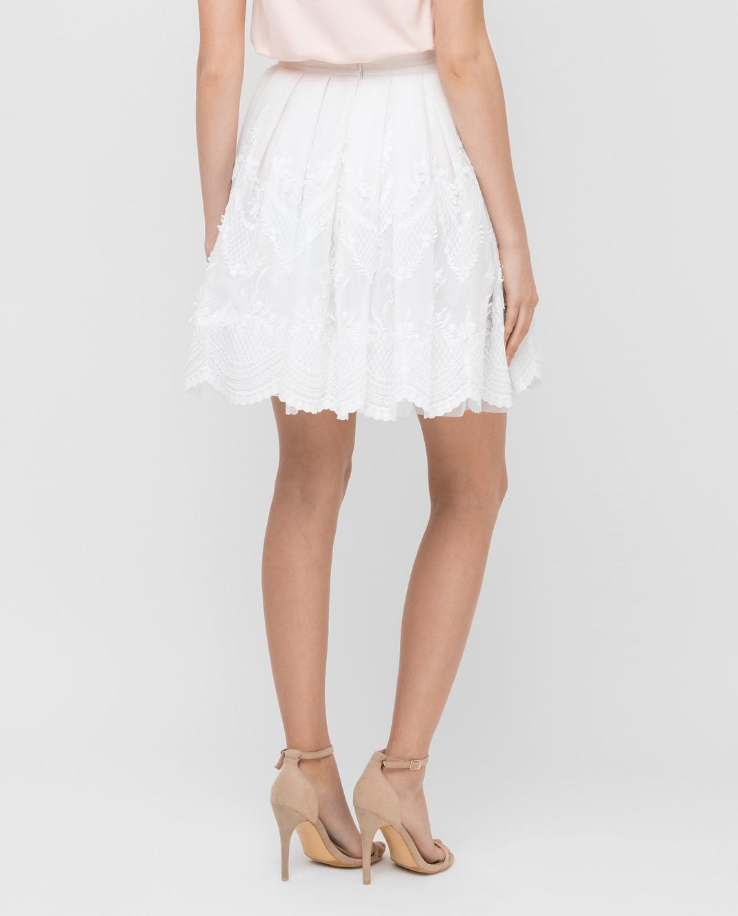 Ermanno Scervino Белая юбка D282O310AMX изображение 4
