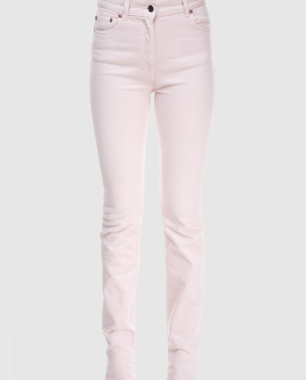 Valentino Пудровые джинсы PB0DD06J3WC изображение 4