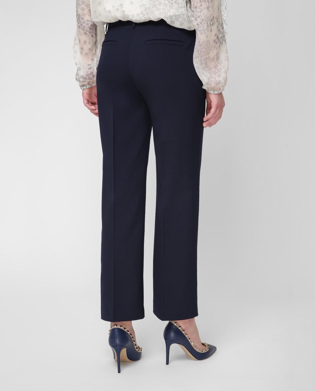 Red Valentino Синие брюки RR3RBA8000J изображение 4