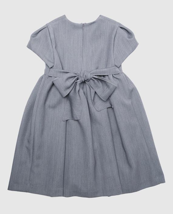 Детское серое платье hover