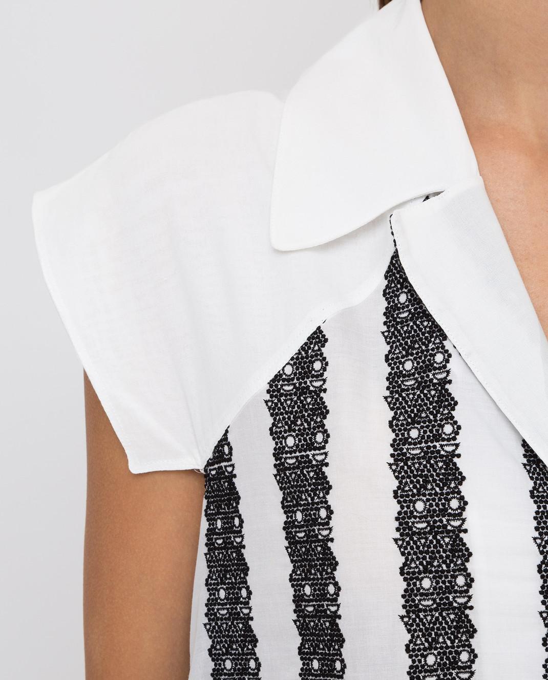 Azzedine Alaia Платье в полоску 6E9RF80CT159 изображение 5