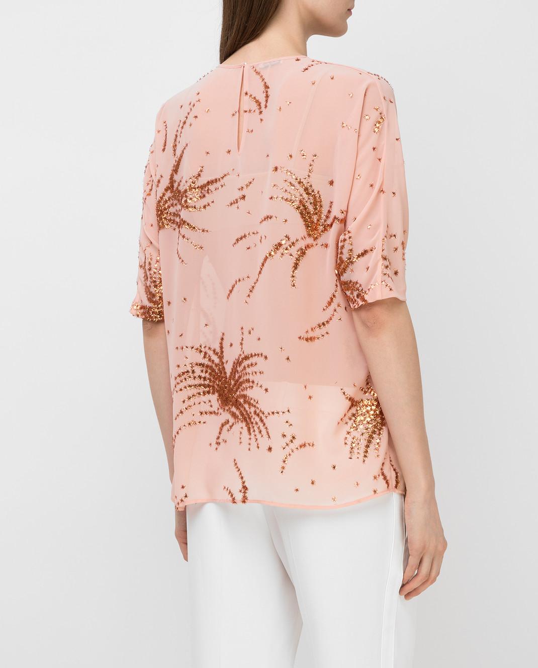 Miu Miu Пудровая блуза MT1296 изображение 4
