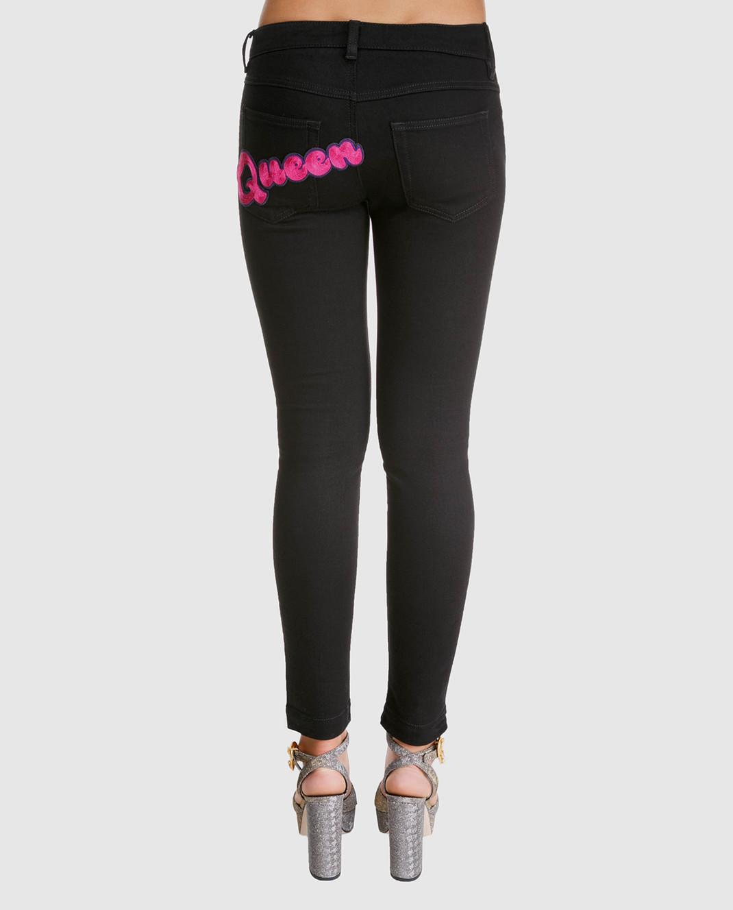 Dolce&Gabbana Черные джинсы FTAH7ZG8T27 изображение 4