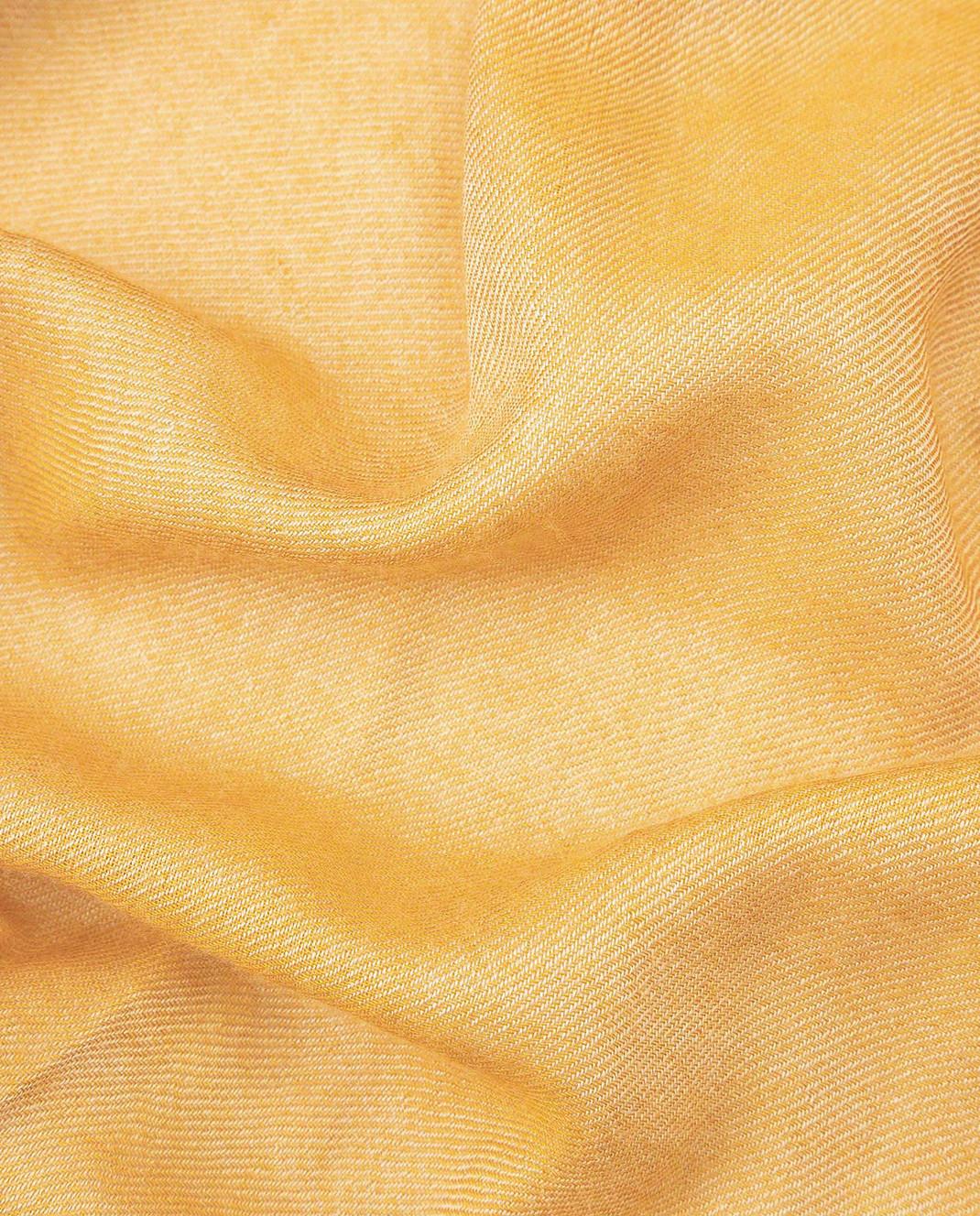Bertolo Cashmere Желтый шарф из кашемира и шелка 000238 изображение 3