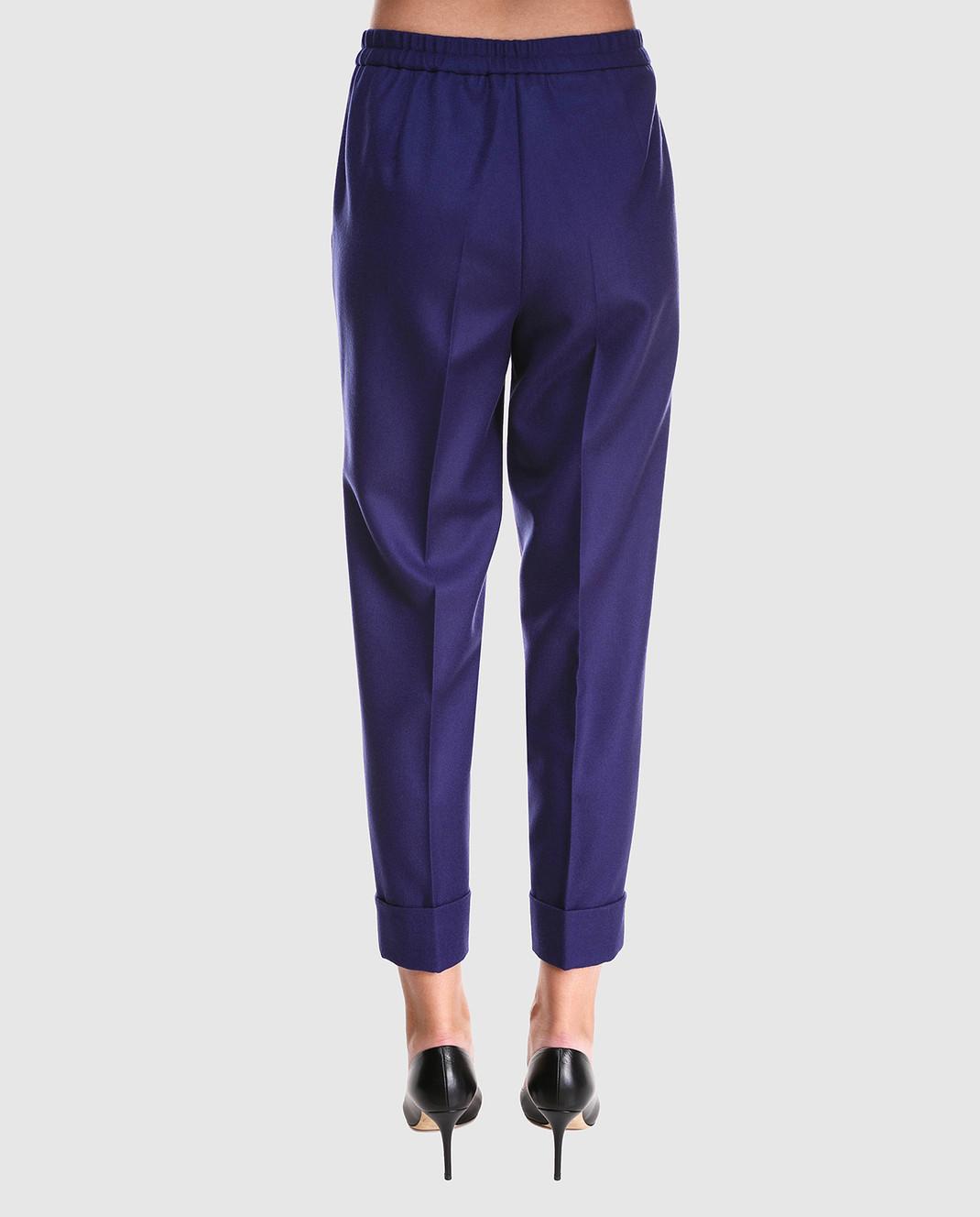Bottega Veneta Синие брюки 513214 изображение 4