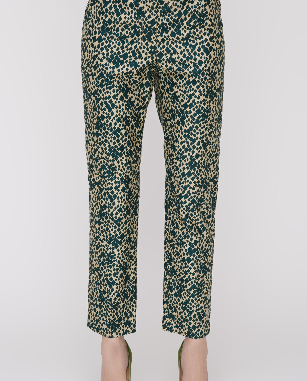 Sonia Rykiel Зеленые брюки 17331338 изображение 3
