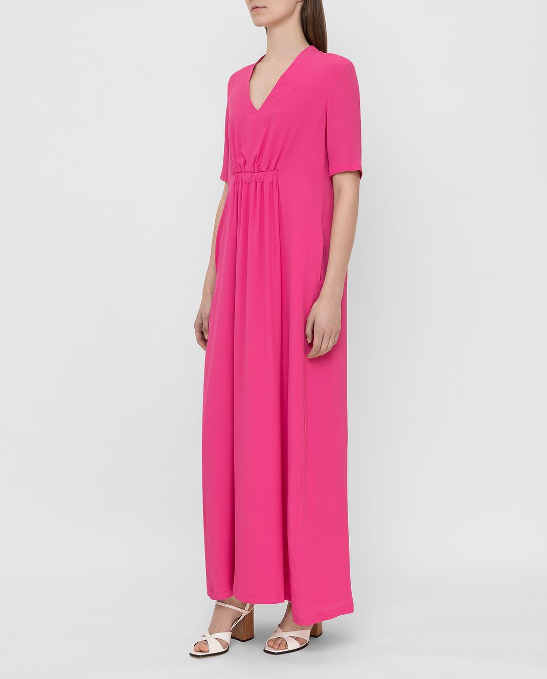 Fabiana Filippi Розовое платье ABD260B985 изображение 3
