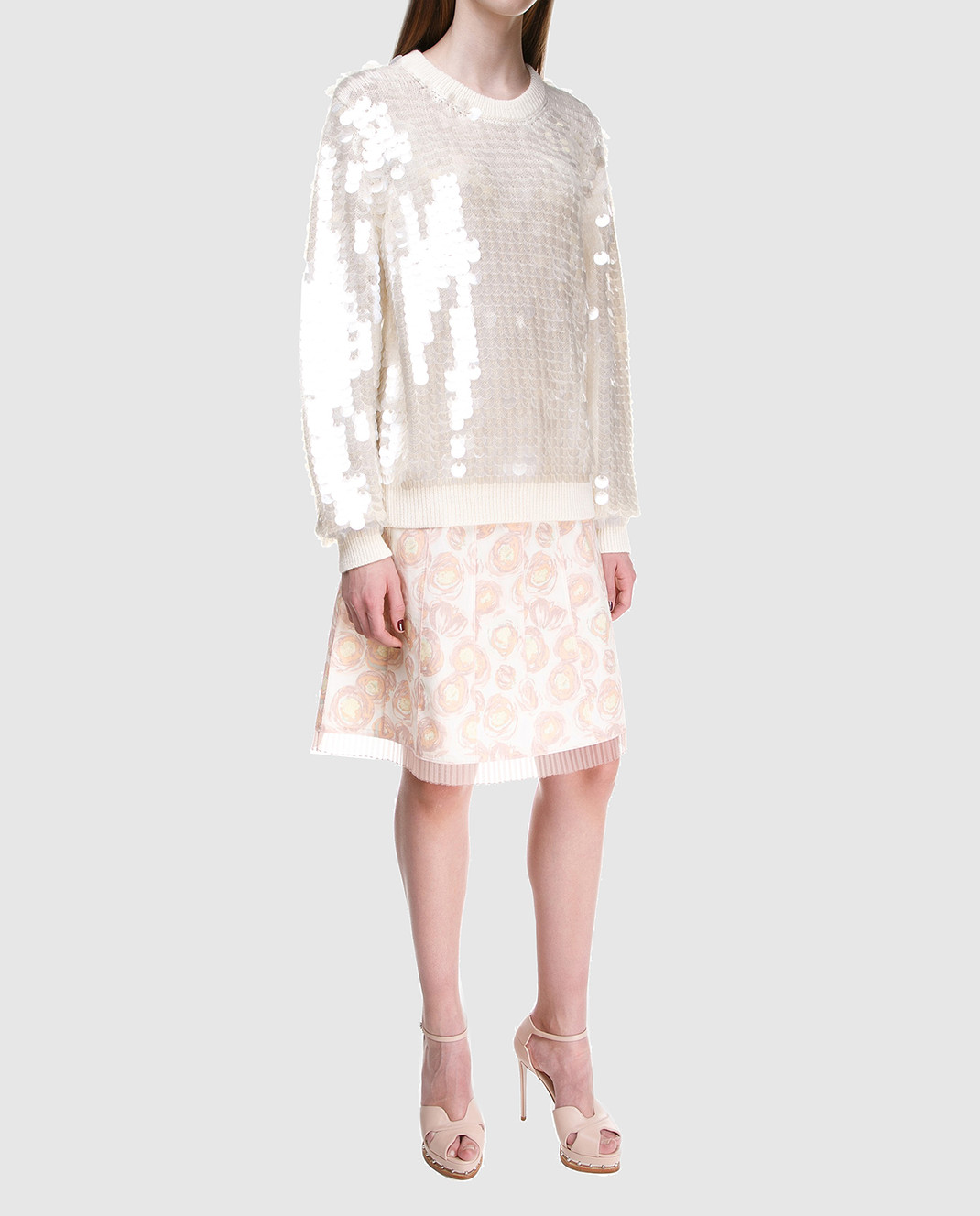 Marc Jacobs Светло-бежевая юбка M4007208 изображение 2