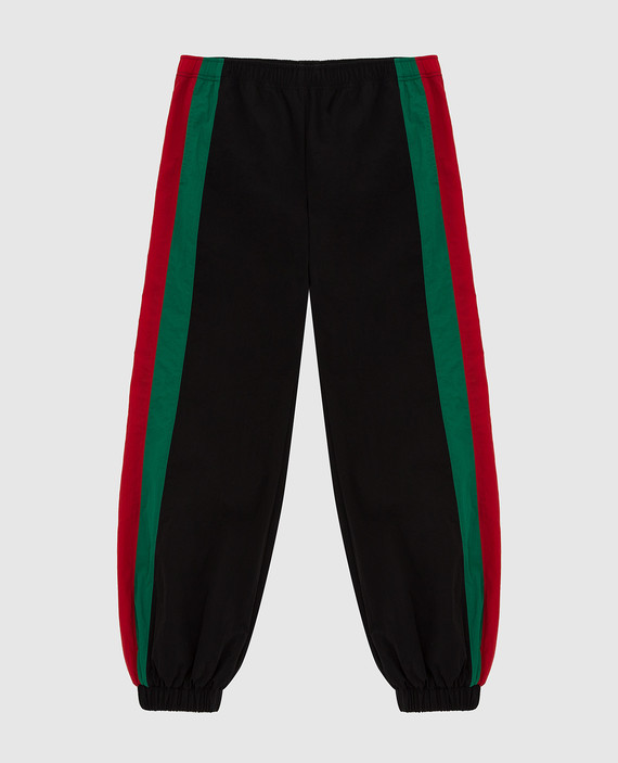 Детские черные спортивные брюки