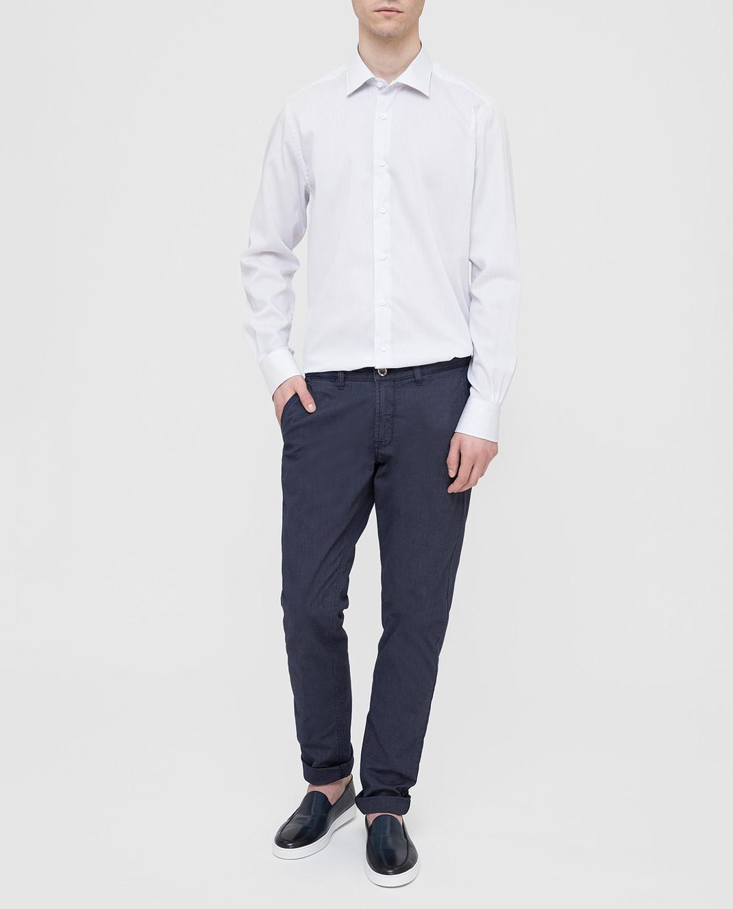 Carrel Белая рубашка на пуговицах C4510418G изображение 2