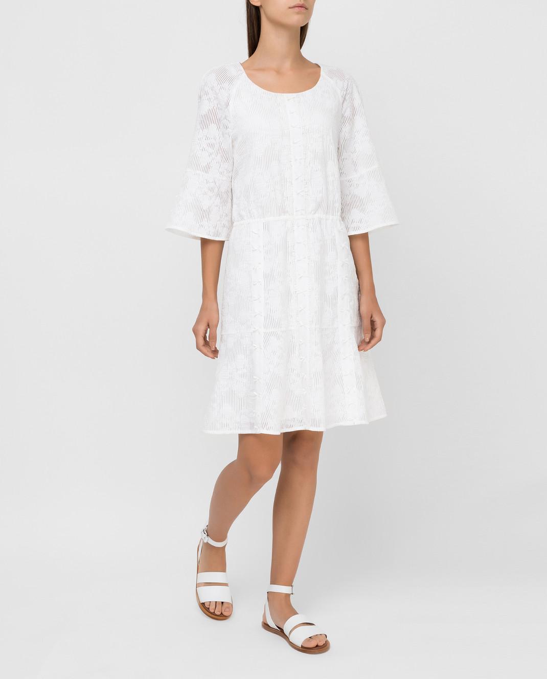 Blumarine Белое платье 6454 изображение 2