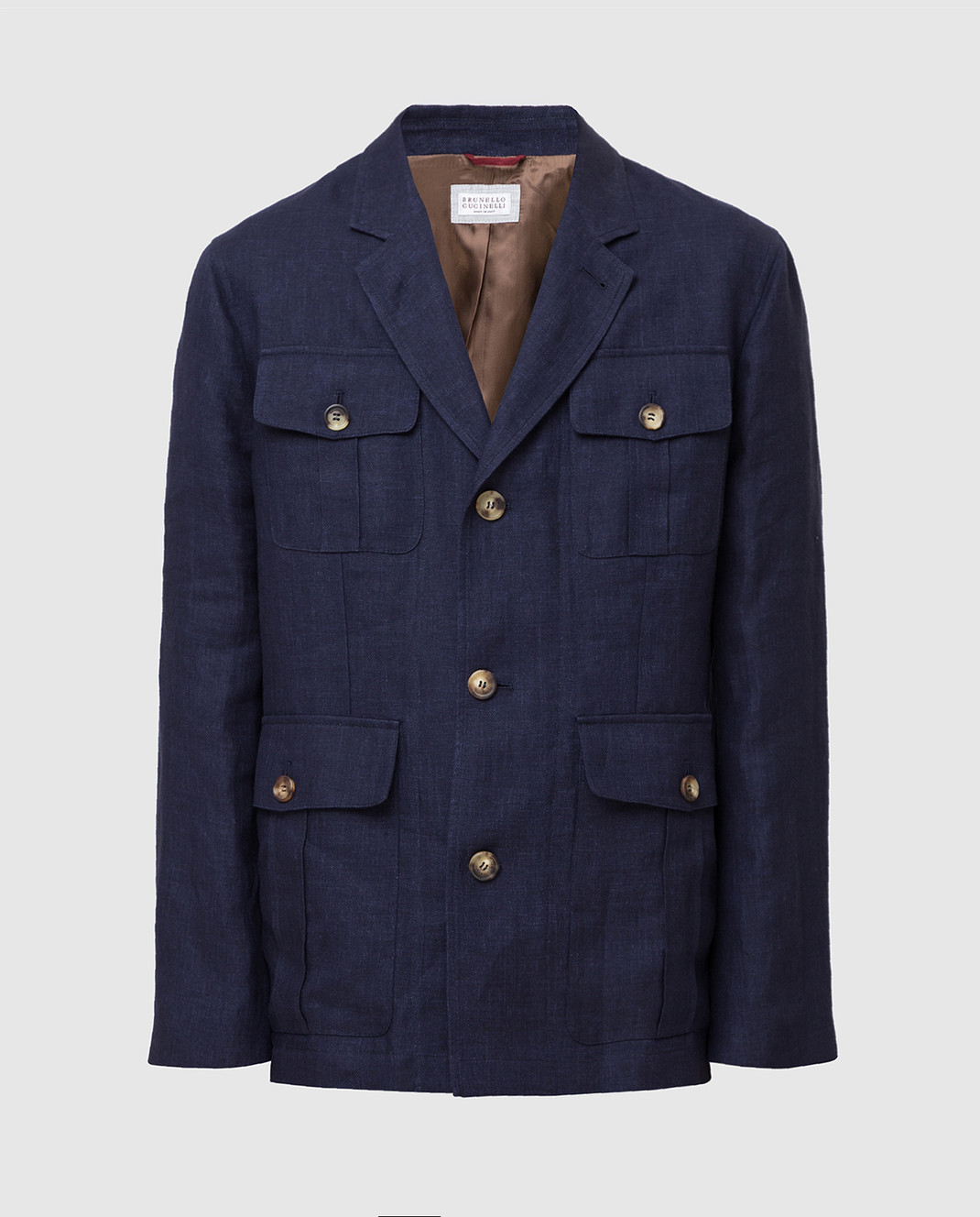 Brunello Cucinelli Синяя куртка MD4176848