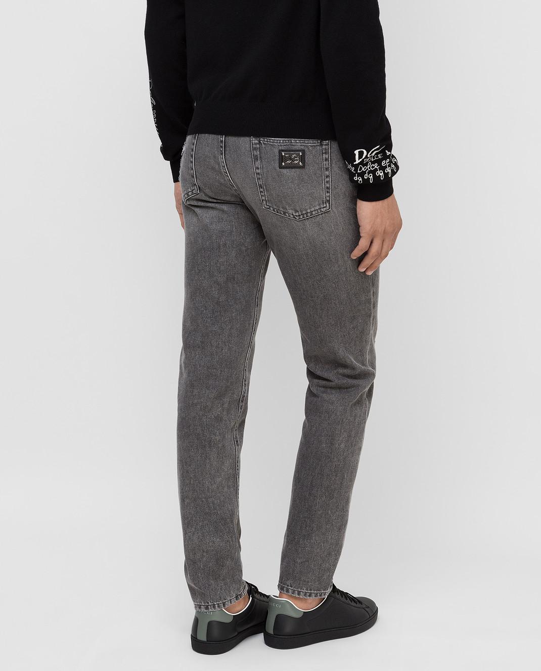 Dolce&Gabbana Серые джинсы изображение 4