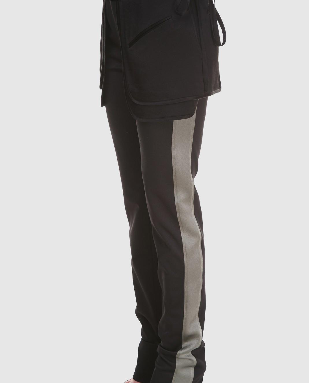 Valentino Черные брюки PB0RB2A53Q3 изображение 3