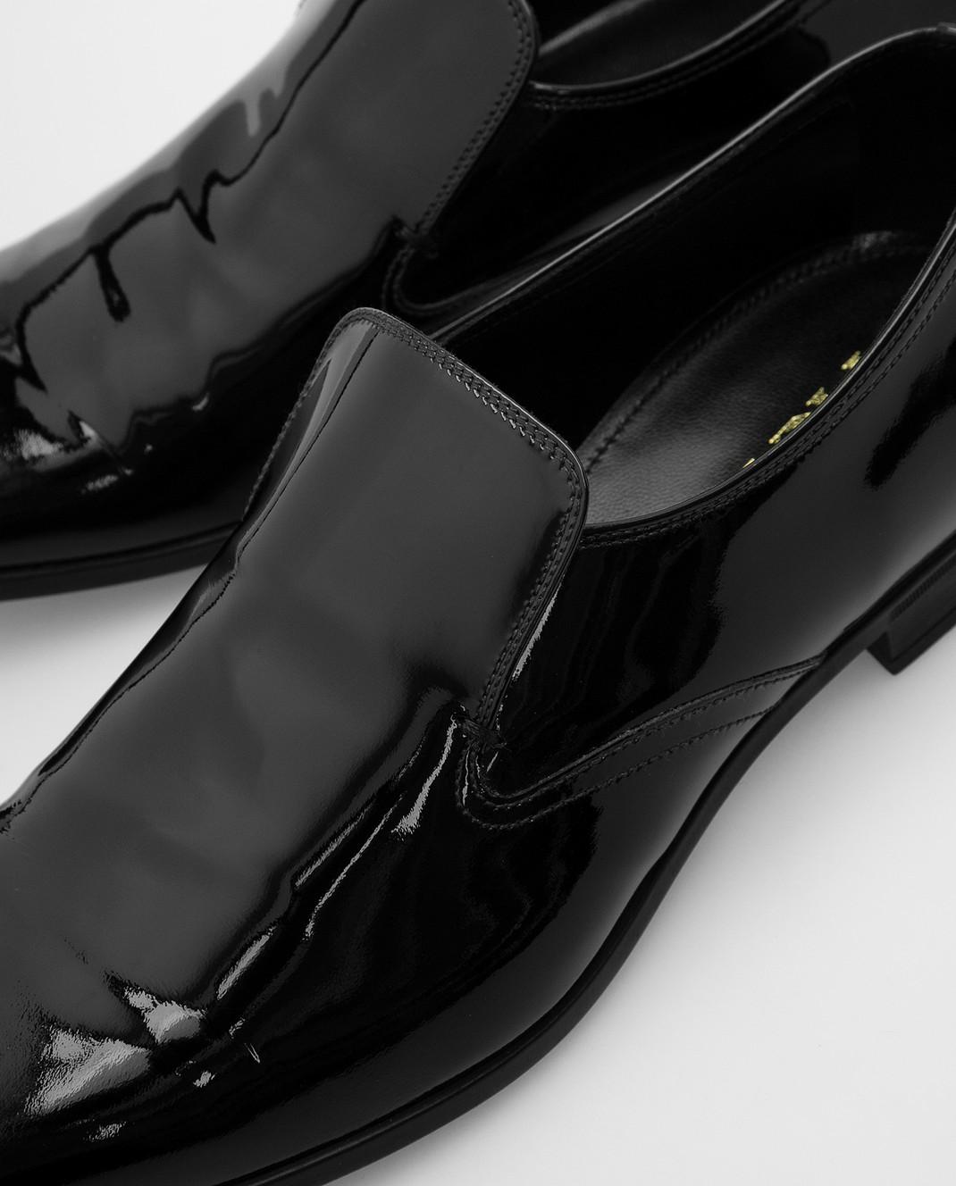 Prada Черные кожаные лоферы 2DC129 изображение 5