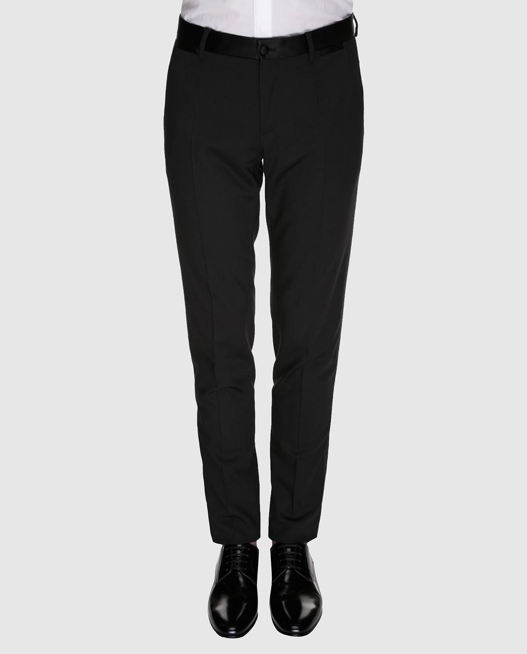 Dolce&Gabbana Черные брюки GYA5MTFUCD4 изображение 3