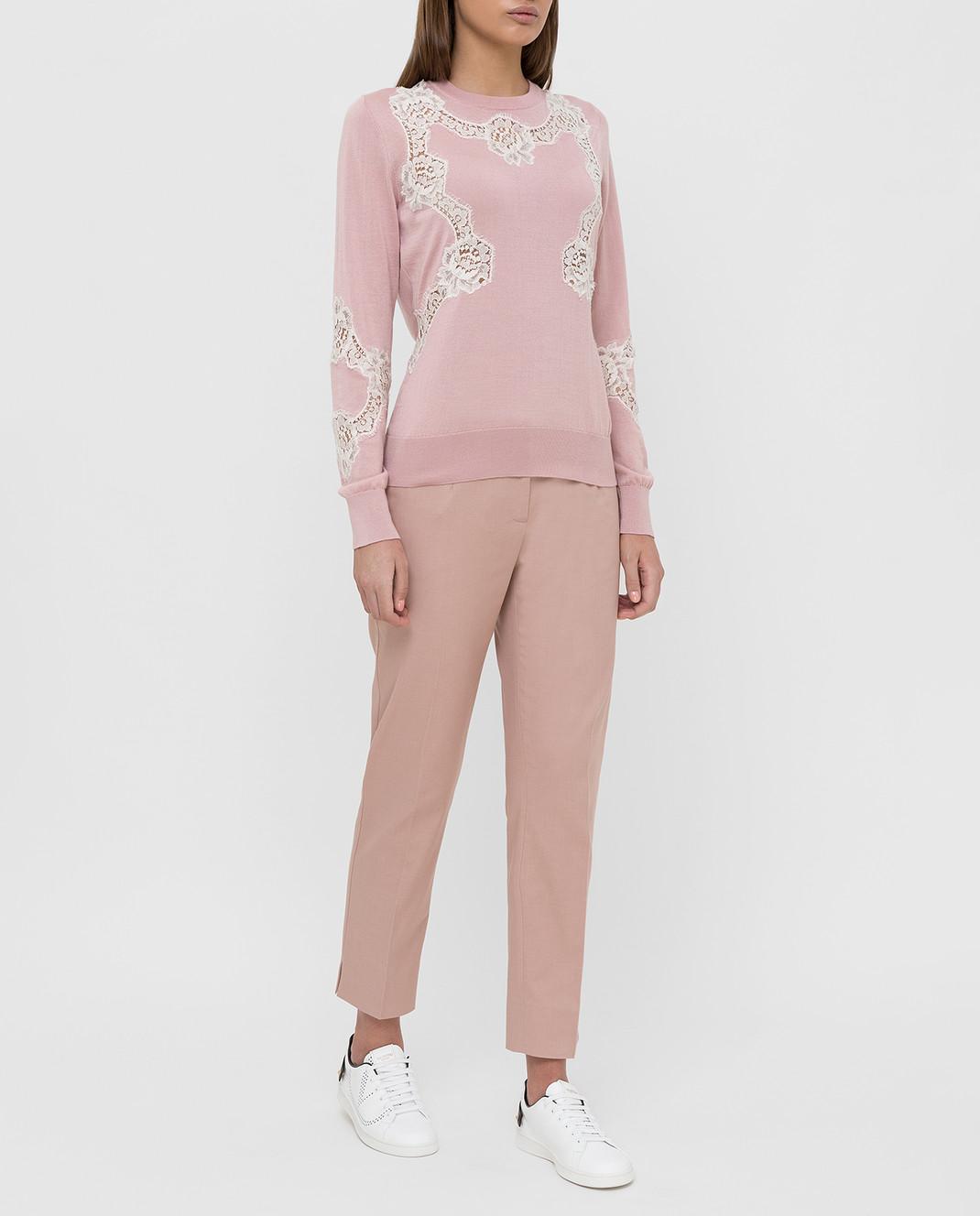Dolce&Gabbana Розовые брюки FTAGNTFUFGD изображение 2