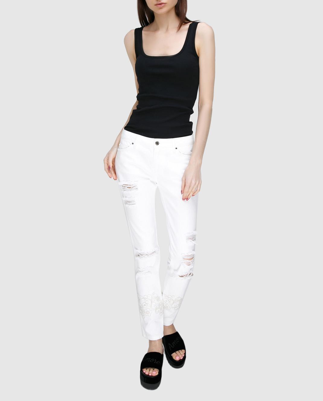 Ermanno Белые джинсы JL09 изображение 2